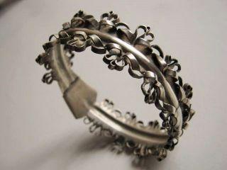 Uromas Armreif Armband Trachtenschmuck Silber Schmiedearbeit Bild