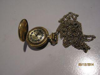 Dugena Classic Damentaschenuhr Mechanisch Handaufzug,  Vergoldet Bild