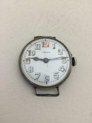 Alpina 800er Silber Taschenuhr Armbanduhr Pocket Watch Für Uhrmacher (646) Bild