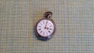 Antike Taschen/ - Armbanduhr Cylindre 10 Rubis Bild