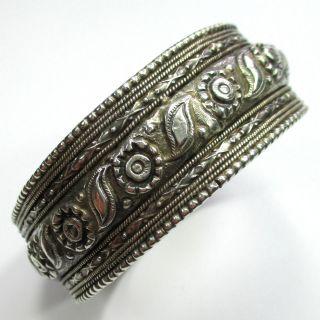 Orientalischer Armreif Aus Silber - - - Video - 1367 - Bild