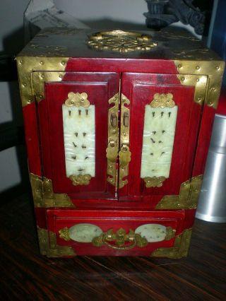 Alte Chinesische Schmuckschatulle Bild