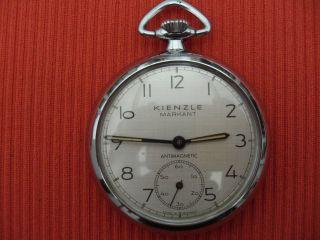 Alte Taschenuhr Kienzle Markant,  Antimagnetic,  Funktionsfähig Bild