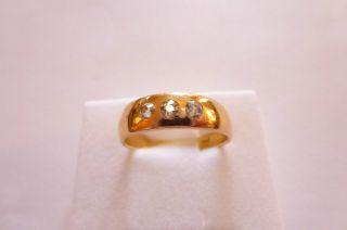 Sehr Exclusiver Prachtvoller Jugendstil Art Nouveau Ring Gold 585 Mit Diamanten Bild
