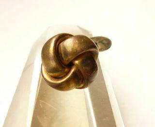Manschettenknopf 835 Silber - 1930er Jahre Handarbeit,  Viele Interessante Stempel Bild