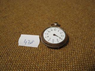 Alte Damentaschenuhr / 800er Silber - - Für Bastler - - Bild