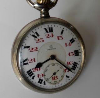 Antike Omega Taschenuhr,