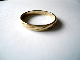 333er Gold Ring - - Alter Ehering - - Echt Gold 2,  93mm Bild
