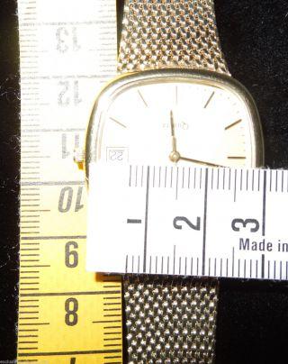 ♛ Luxus Massive Echt Gold 333/9 Karat Gelbgold Armbanduhr 53 Gramm Schwer Herren Bild