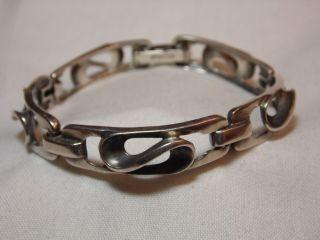 Art_deco Silber Armband Ottaviani Italy Design Bild