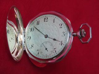 Taschenuhr Antik 585 Gold,  14 K Uhr, Bild