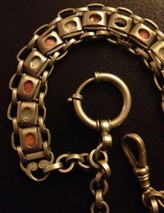 Schöne Kette Für Taschenuhr Taschenuhrenkette Bild