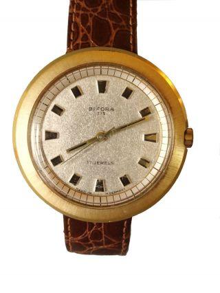Vintage Bifora Herren Armbanduhr,  17 Jewel,  Antichock,  Waterprotected Bild
