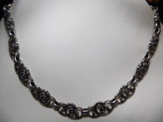 Art_deco 835er Silber Kette Massiv: 33,  15 Gr.  Design Bild