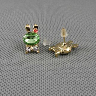 1x Schmuck Ohrclip Frauen Ear Cuff Ohrringe Earrings Xf226d Kaninchen Rabbit Bild