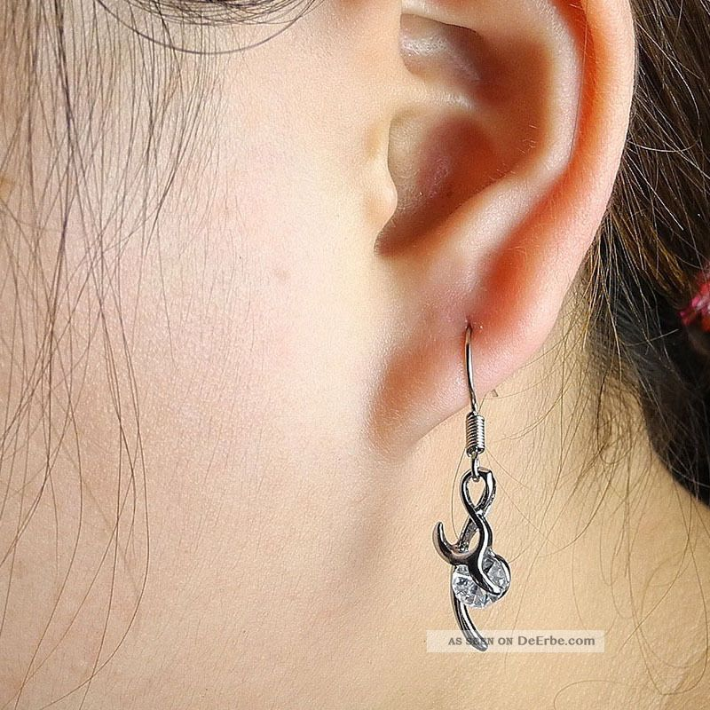 1x schmuck m nner ohrstecker ear clip ohrringe earrings xdg19 musik note. Black Bedroom Furniture Sets. Home Design Ideas