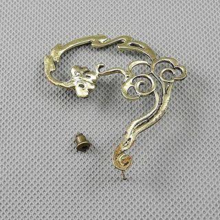 1x Schmuck Männer Pin Ear Stud Ohrringe Earrings Xf101b Linke Seite Wolke Bild