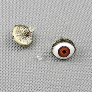 1x Schmuck Männer Jewelry Men Ohrringe Earrings Xf114b Paar Böser Blick Bild