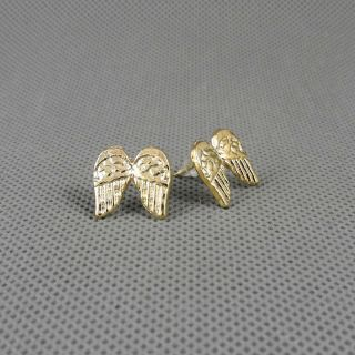1x Brosche Schmuck Ohrclip Strass Jewelry Ohrringe Earrings Xj0026 Engel Flügel Bild