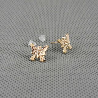 1x Schmuck Ohrclip Anhänger Ear Clip Ohrringe Earrings Xj0045 Schmetterling Bild