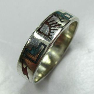 416 - Ring Mit Steinmosaik Aus 925 Sterling Silber - - - Video - 1328 - Bild