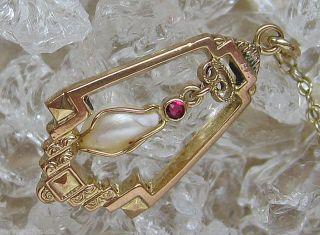 Gold Kette Artdecoschmuck In Aus Gold Collier Perlen Kette Artdecokette Art Deco Bild