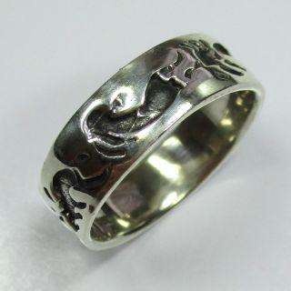 59 - Ring In Indianerschmuck Art Aus 925 Silber - - - Video - 1328 - Bild