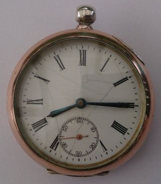 Alte Antike Taschenuhr Von Phenix Mit Schlüsselaufzug,  Manuell Bild