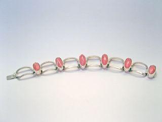 Signiertes 60er Jahre Silber Armband - Signed 1960s Vintage Silver Bracelet Bild