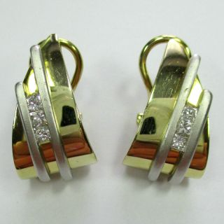 775 - Exquisite Clipstecker - Gold 585 - 0,  36 Carat Diamanten - - - Video - 1404 - Bild