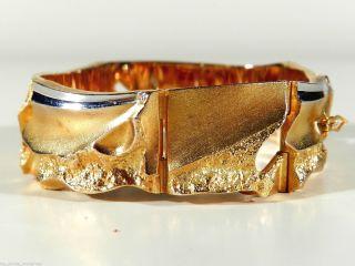 Lapponia Gold Platin Armband ° Finnland 1990 ° Design BjÖrn WeckstrÖm Bild