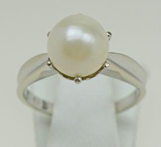 Perlen Ring Damenring Luxusring Goldschmuck Ringe Perlenschmuck Schmuck Bild