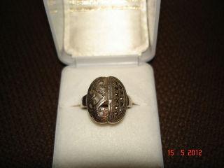Wunderschöner Filigran - Ring,  Sehr Alt Bild