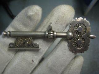 Wunderschöne Anhänger Biedermeier Ca.  1880 Antik Uhrkette Charivari Kropfkette Bild