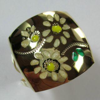 363 - Aktueller Ring Aus Gold 375 Mit Lack - - - Video - 1508 - Bild