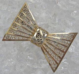 Brosche Jugendstilbrosche 800 Silber Silberbrosche Bild