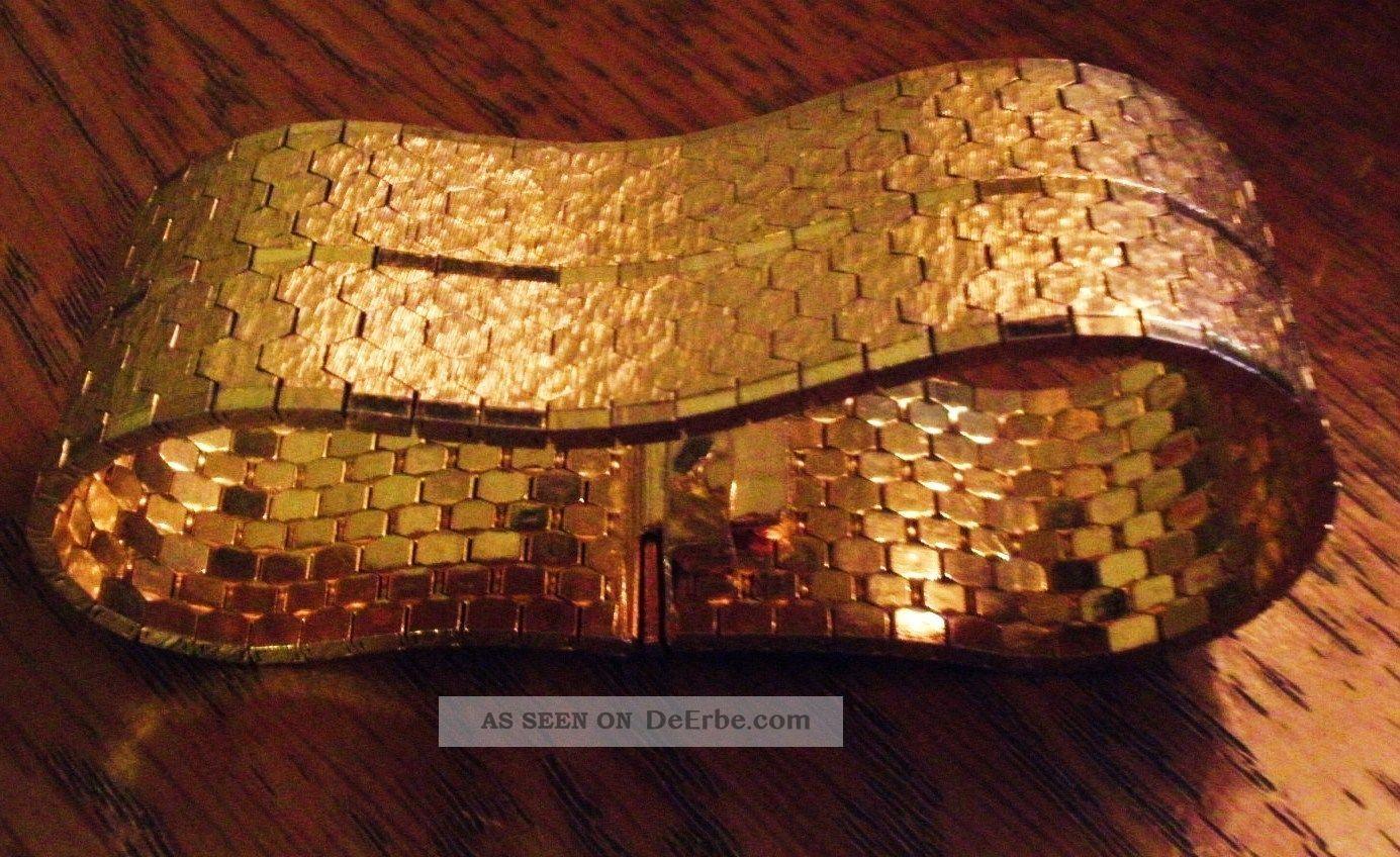 Schönes Breites Schweres Armband In Gold Vintage Schmuck ...