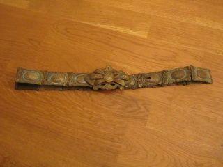 Antiker Hochzeitsgürtel Wohl Osmanisch - Bronze Bild