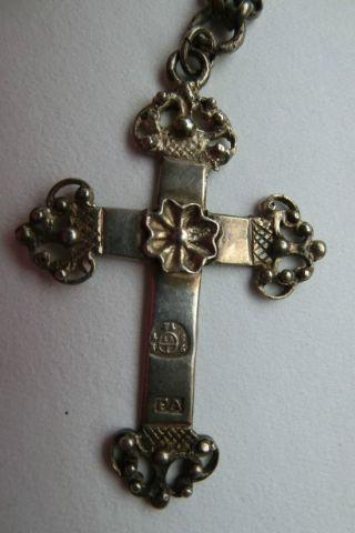 Silbernes Trachtenkreuz Bild