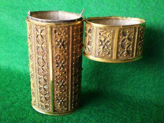 18 - Karat Gold - Filigran - Dose Um 1800,  Museums - Objekt Bild