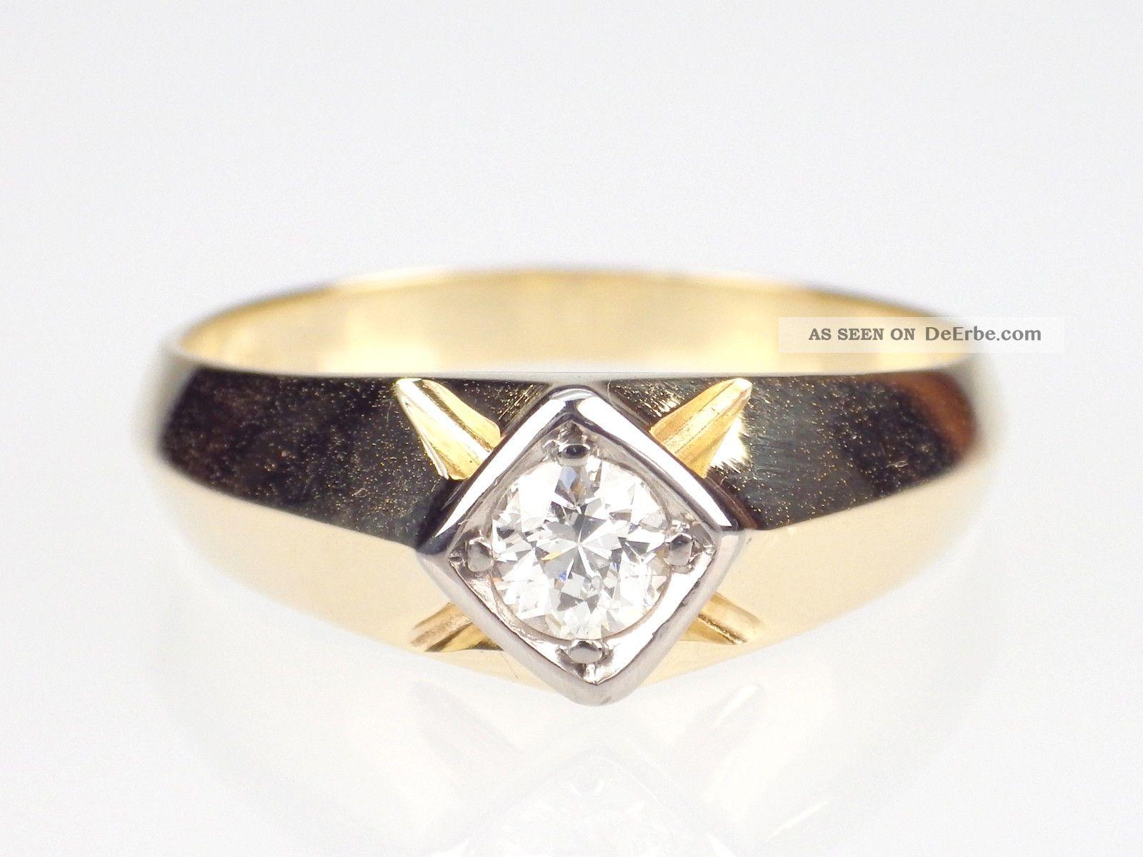 Diamantring verlobung gold  Antikschmuck - Schmuck & Accessoires - Ringe - Gold - Antiquitäten