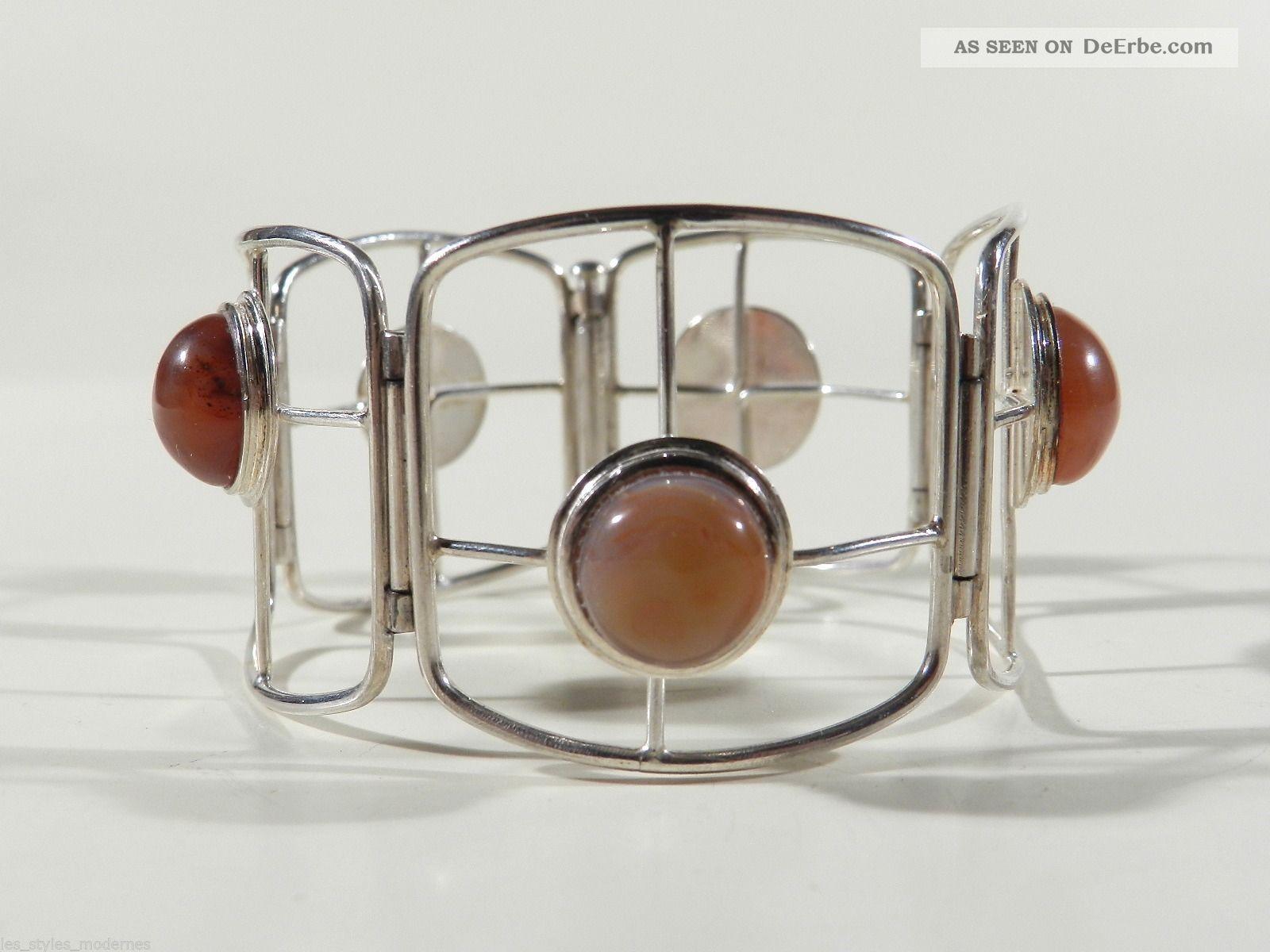 kunstgewerbeschule aachen silber achat 30er jahre armband bauhaus era. Black Bedroom Furniture Sets. Home Design Ideas
