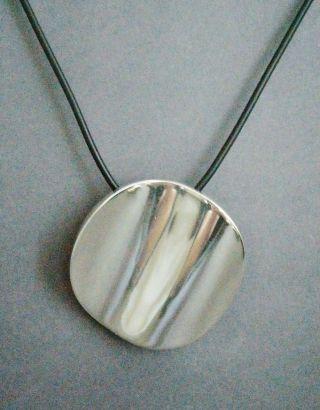 Teilvergoldet Silber 925 Brosche Auch Anhänger Schönes Schmuck- Design