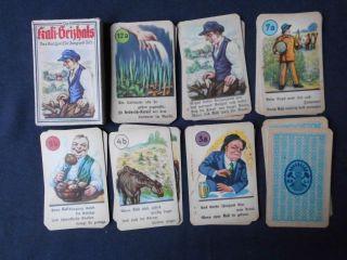 25 Blatt Kali Geizhals Kartenspiel Für Jung Und Alt Ca.  1930 Bild