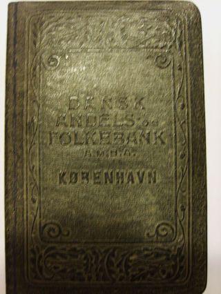 Antike Spardose Um 1900 Der Dansk Andels - Folkebank Bild