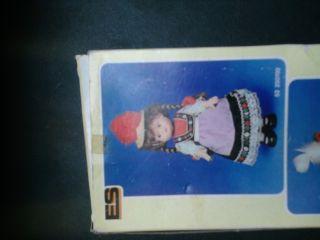 Org Trachtenpuppe Puppe 22cm Unbespielt Org Karton Schwarzwald 70er 80er Jahre Bild