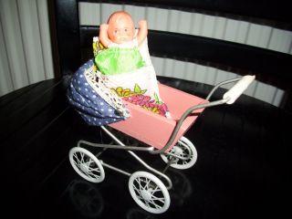 Puppenwagen Für Puppenstube Ddr Bild