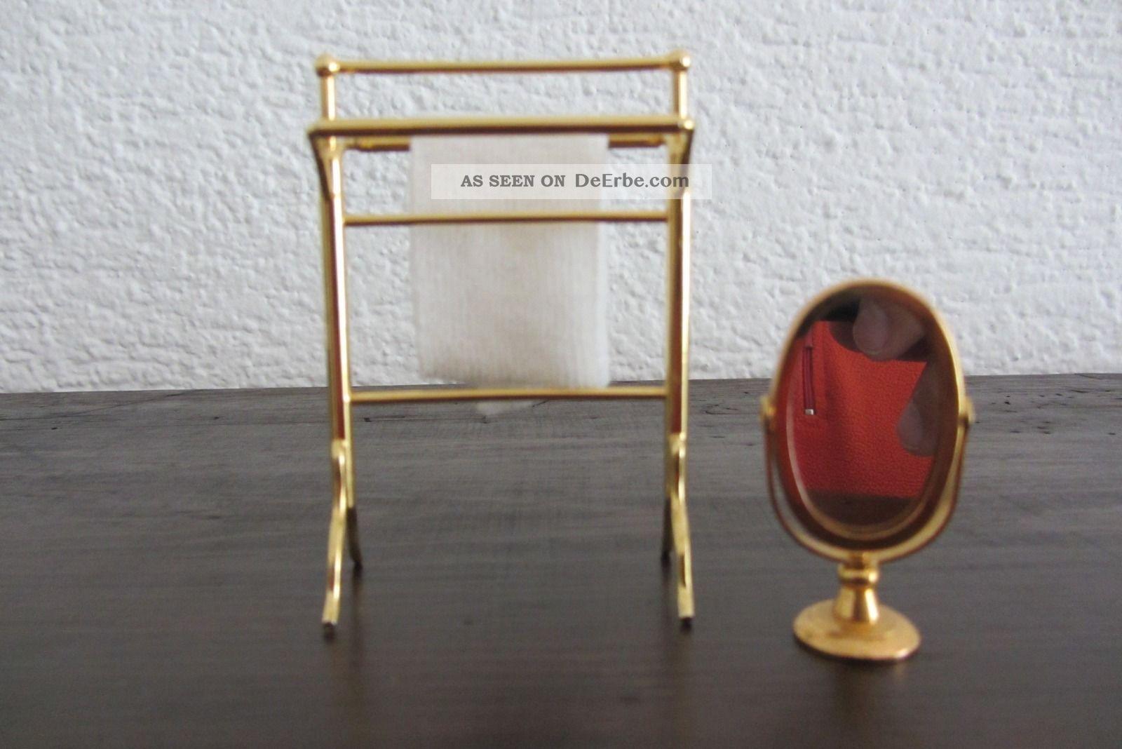 Bodo Hennig - Puppenstuben - ZubehÖr - Nostalgie Bad - Messing Nostalgieware, nach 1970 Bild