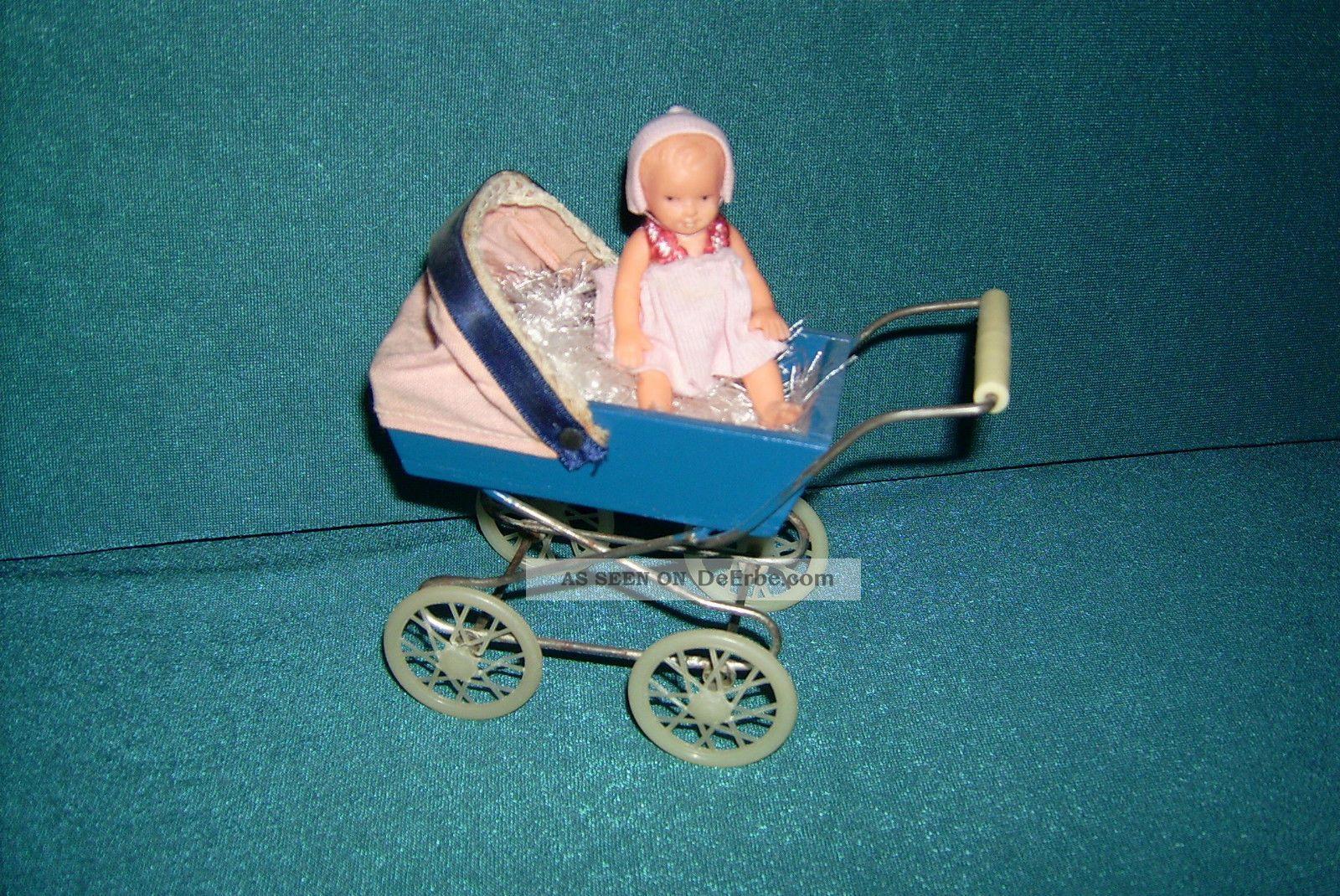 Puppenwagen Für Puppenstube Ddr Puppenwagen Bild