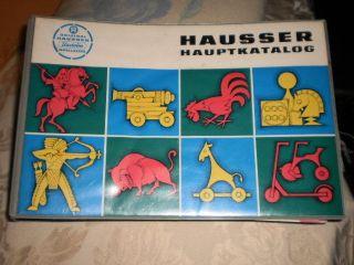 Elastolin Hauptkatalog Historische Hausser Figuren Von 1960/70? Bild